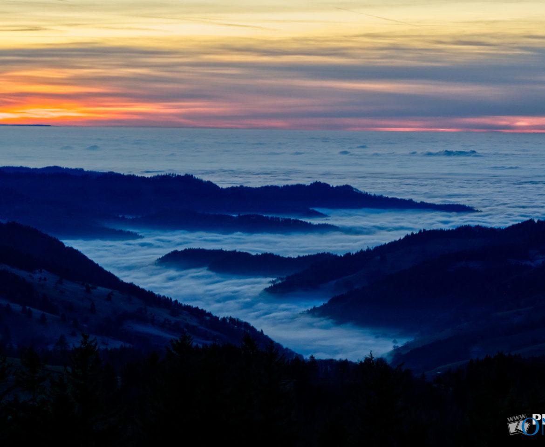 Nebelmeer auf dem Schauinsland
