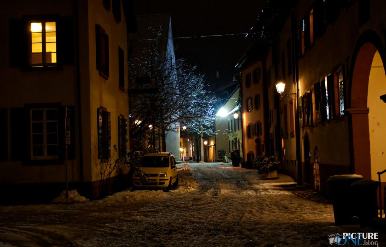 Winternacht in Schopfheim